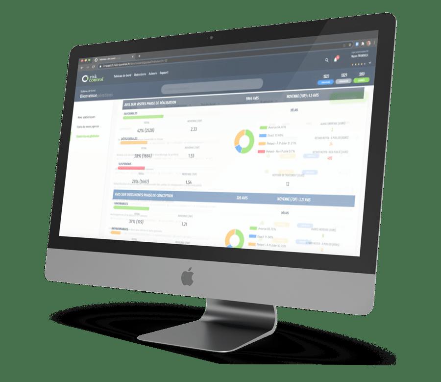 Plateforme destiné aux clients et aux collaborateurs de Risk Control Impact 2.0